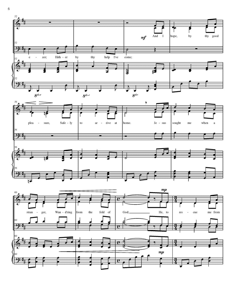 Come thou fount of every blessing chords pdf
