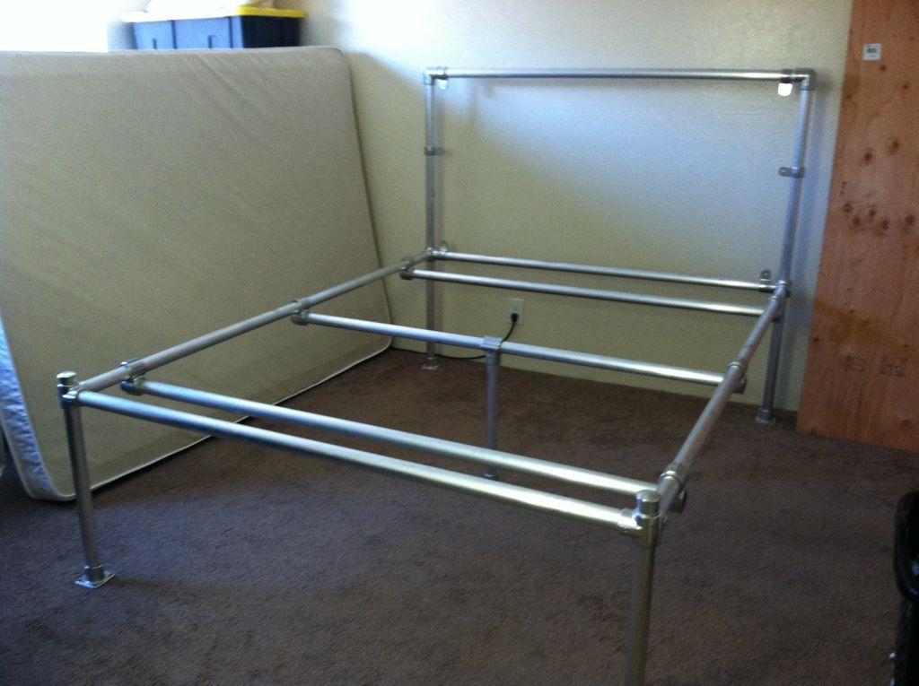 pvc pipe bed frame instructions