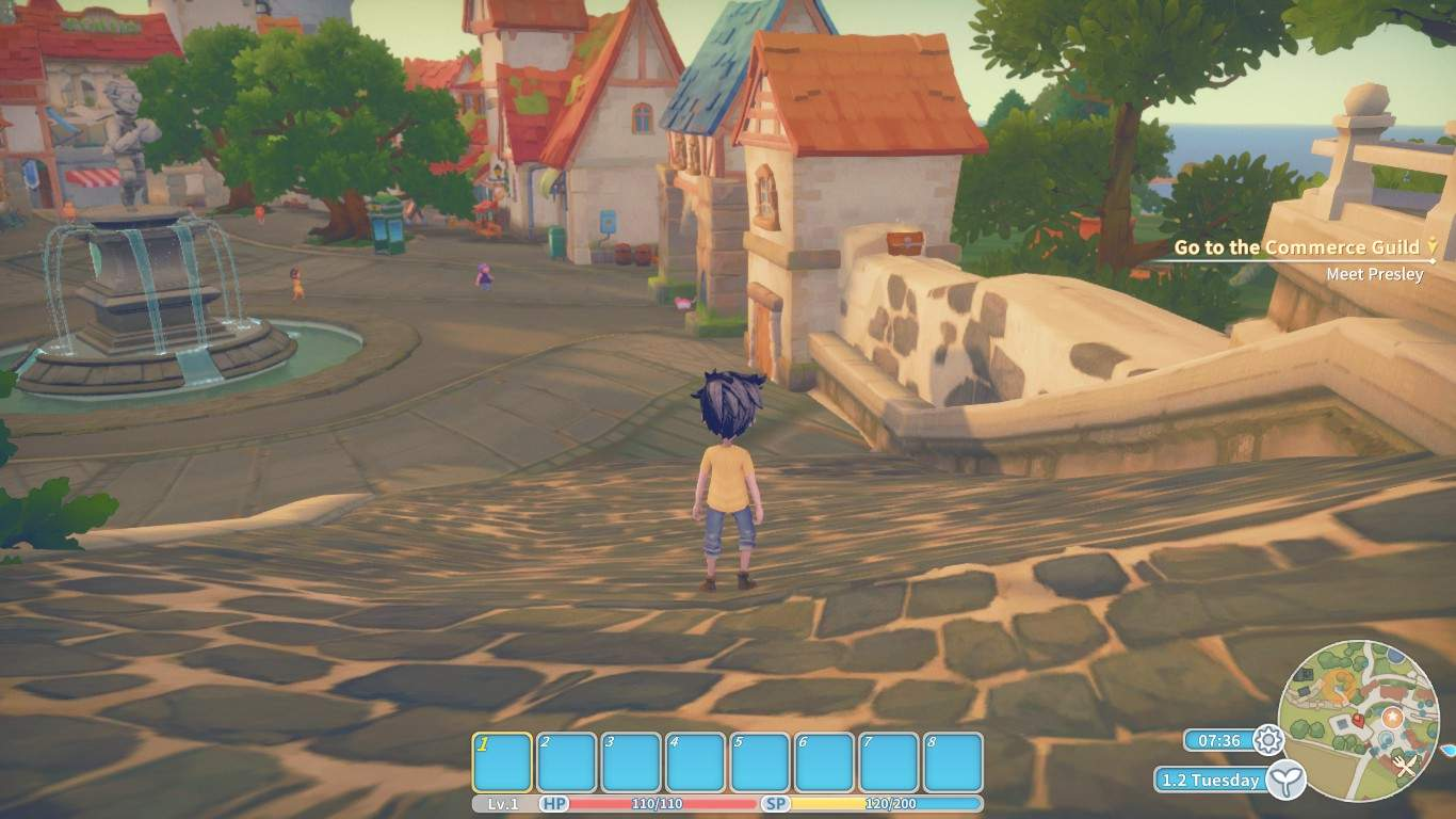 My time in portia how to get stamina up