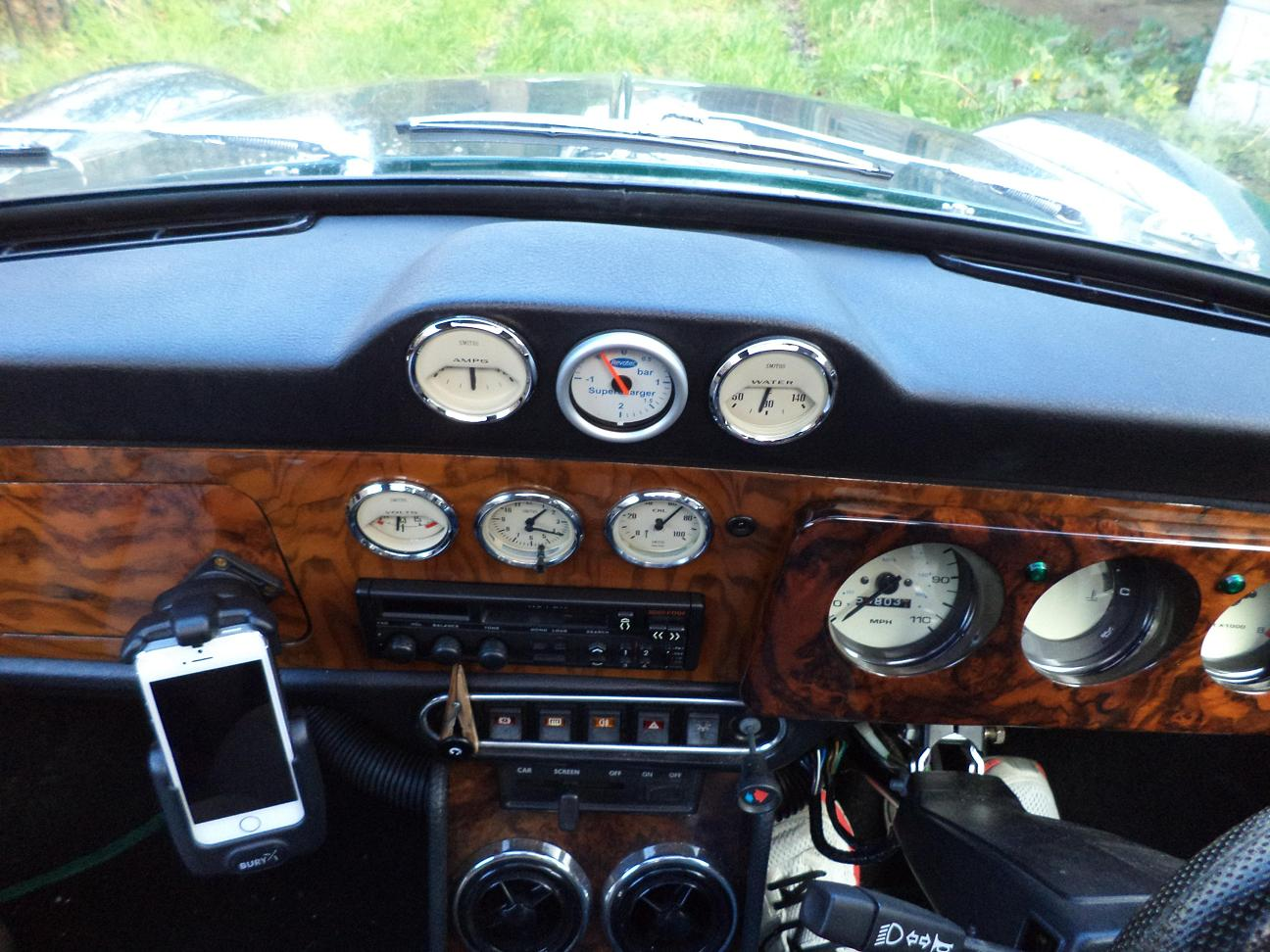 classic mini dashboard fitting instructions