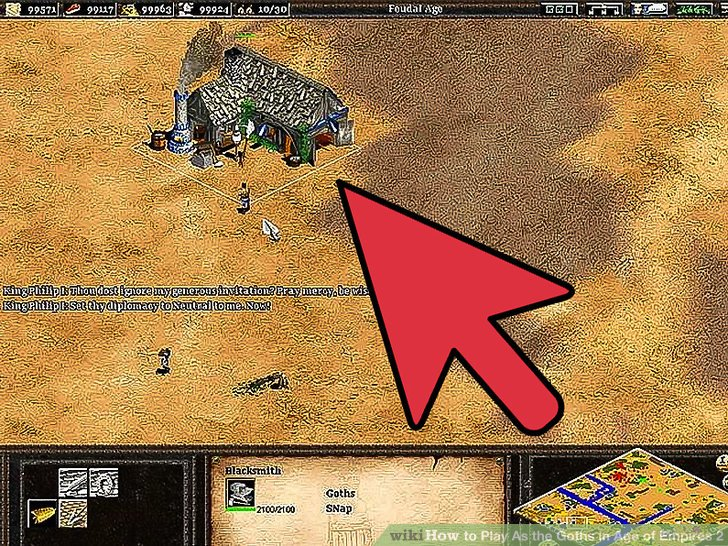 Aoe 2 how to tell ally to build market