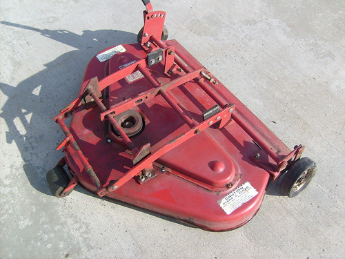 wheel horse mower deck manual