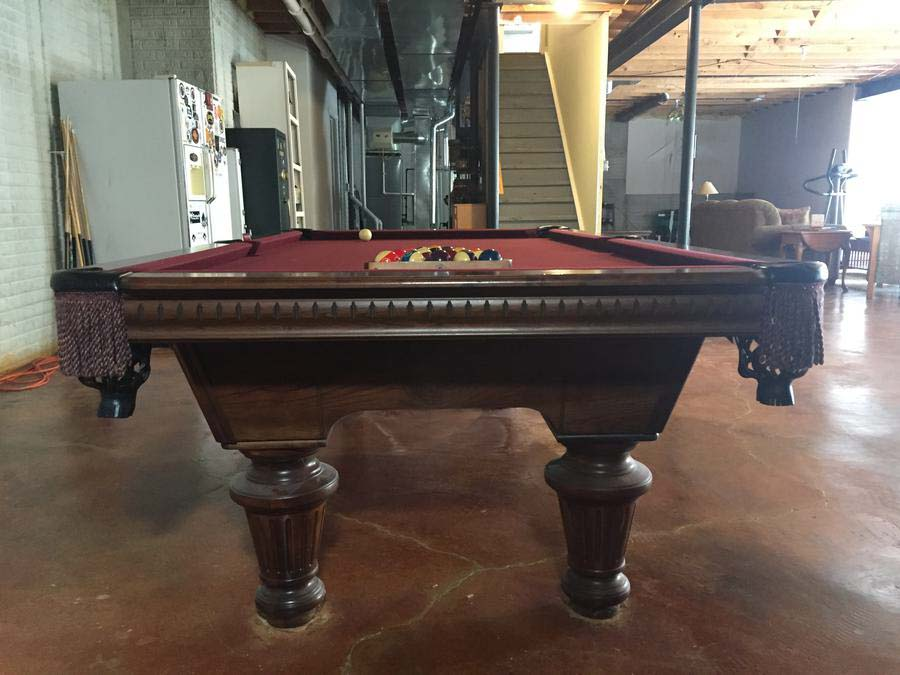 kasson pool table assembly instructions