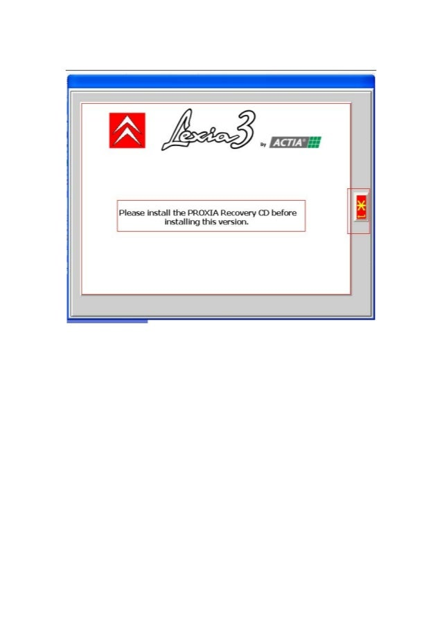 lexia 3 installation instructions