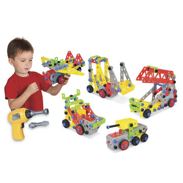 Real construction toys instructions