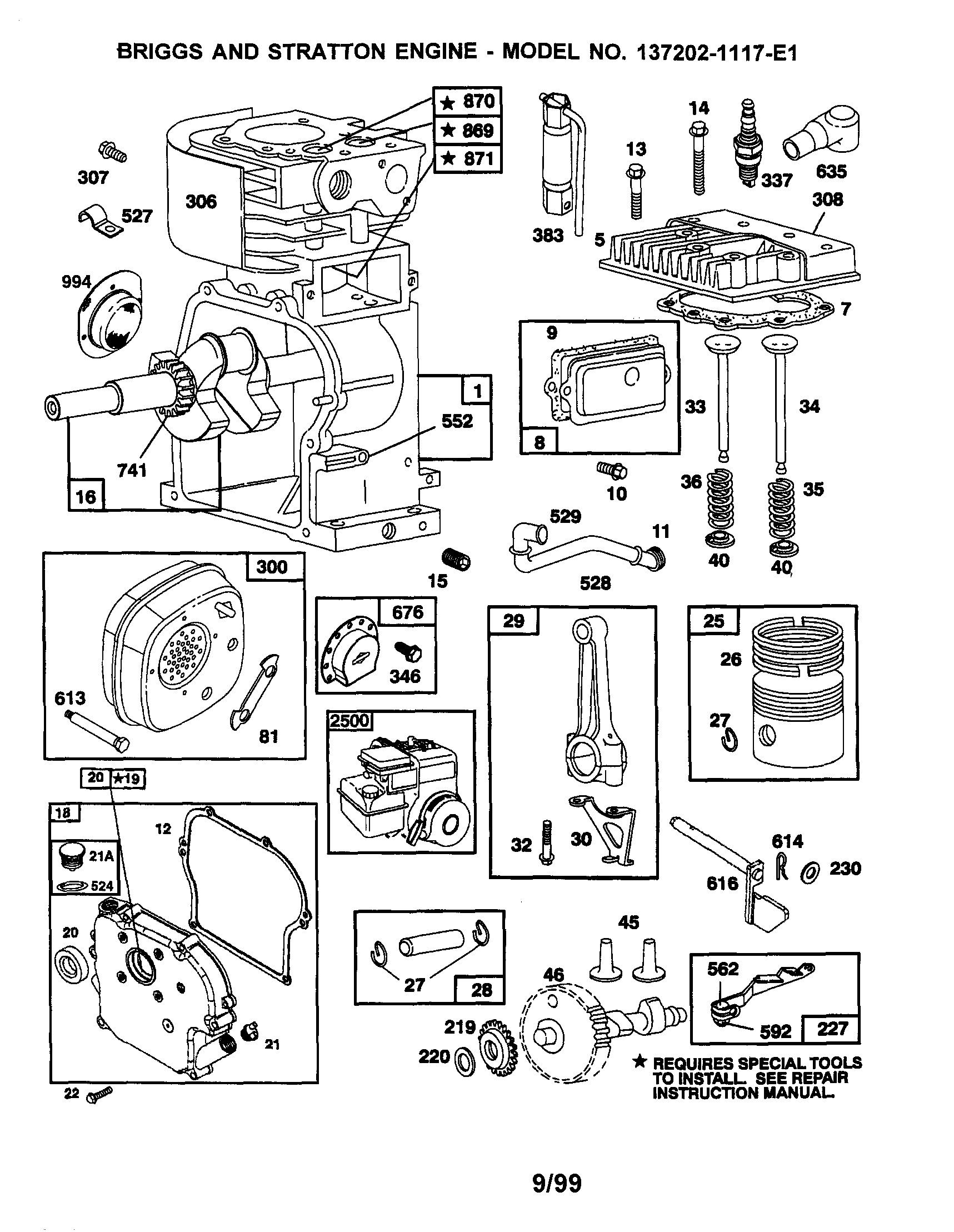 briggs and stratton 850 series manual