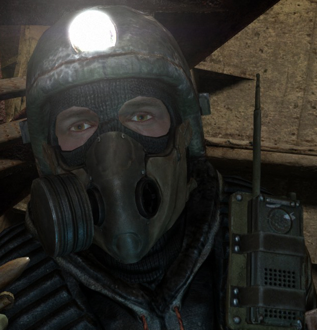 Metro 2033 how to change gas mask