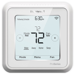 honeywell t6 pro programmable thermostat manual