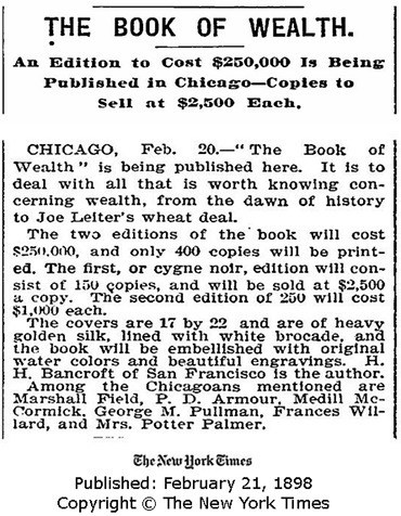 The book of wealth 1896 pdf